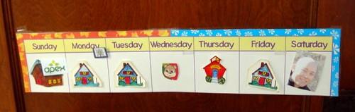 joshua's calendar