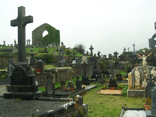 "Ennistymon Graveyard • <a style=""font-size:0.8em;"" href=""http://www.flickr.com/photos/75673891@N00/2923115246/"" target=""_blank"">View on Flickr</a>"