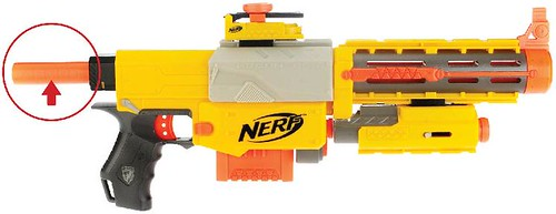 Recalled Nerf blaster