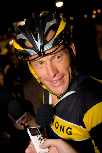 Lance Armstrong at Cross Vegas_Photo by Kwc