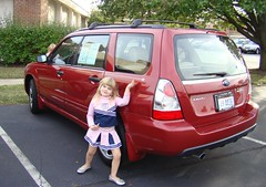 Lorelei new car