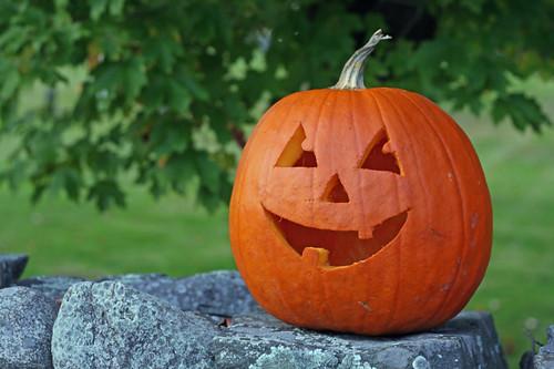 Annual pumpkin lighting, Southborough MA