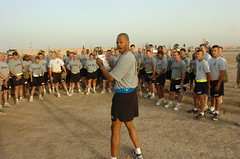 www.Army.mil (The U.S. Army) Tags: army iraq formation soldiers csm encouragement