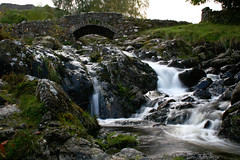 Ashness Bridge - Lake District (Ian Lambert) Tags: bridge lake wet water stone river flow waterfall rocks stream beck district derwent lakes rapids cumbria lakeland keswick soe ashnessbridge barrow