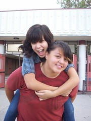 marina and krystal. (adrianna.) Tags: school friends