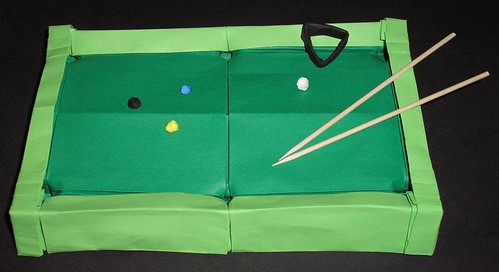 pool origami billiard gerwinsturm