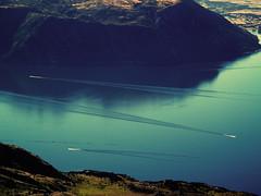North by Northwest (JarvisKP) Tags: newzealand southisland wanaka otago lakewanaka boat lake
