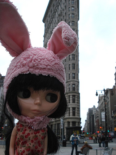 Claudia visits the Flatiron Building