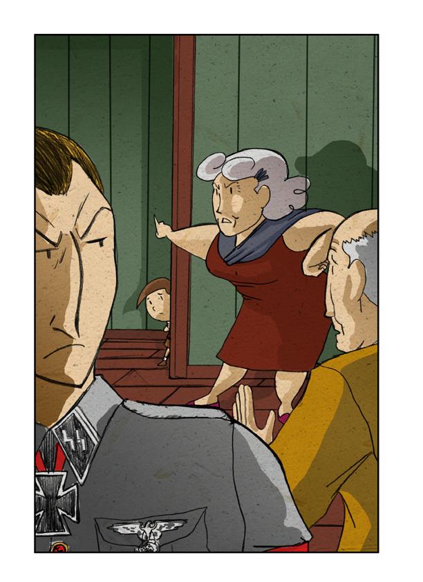 Por qué la abuela se marchó enfadada