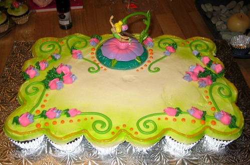 Tinkerbell Cupcake Cake - front
