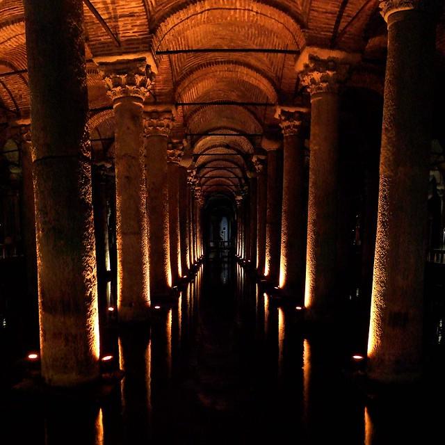 Istanbul - Citerne basilique - 19-10-2008 - 10h30