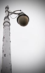 Low Saturation (Beccapixels) Tags: detroit lightpost tone lowsaturation vinyetting