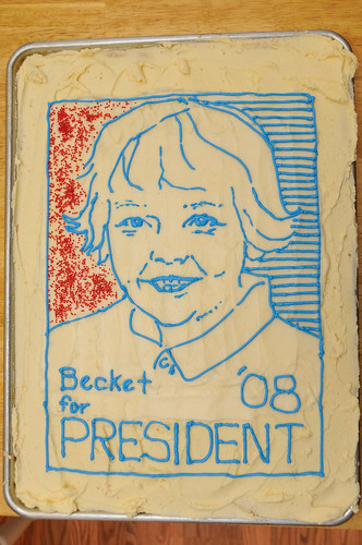 Becket's cake
