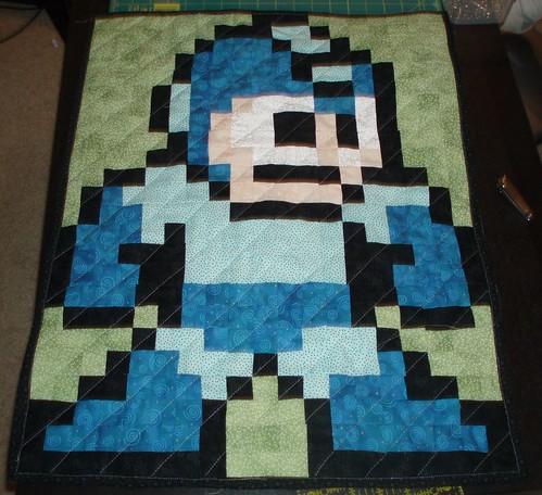 Megaman Quilt