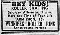 Roller Rink Ad