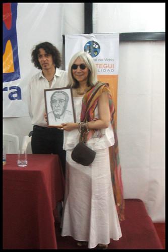 Maria Kodama en Librarte