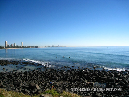gold coast overlooking surfer's paradise