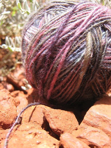 Handspun South West Berry