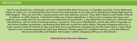 electricshop - customer testimonials