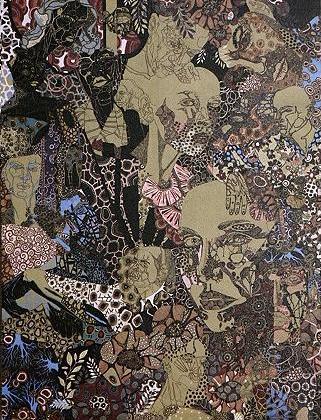 faces art by sonya suhariyan at uo