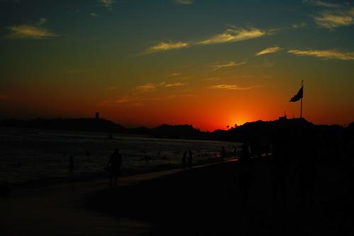 Sunset has gone
