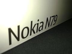 Nokia N79 package box 1