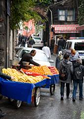 Portable Fruit Market (Funky Chickens) Tags: turkey türkiye istanbul constantinople trkiye