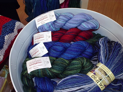 Cascade Baby Alpaca Chunky Paints at The Knitting Nest.