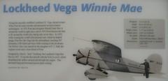Vega Winnie Mae (grobianischus) Tags: museum smithsonian space air center national f mae steven winnie lockheed vega udvarhazy nasm