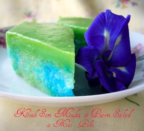 Kuih Seri Muka @ Puteri Salad