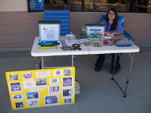 Fundraiser at Petsmart