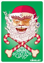 Satanclaus / Satanoel (Victor Ortiz - iconblast.com) Tags: christmas xmas fun navidad icon blast satanic satanclaus iconblast satanoel