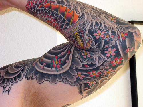 Sleeve tattoo designs that are popular among both men and woman today are -