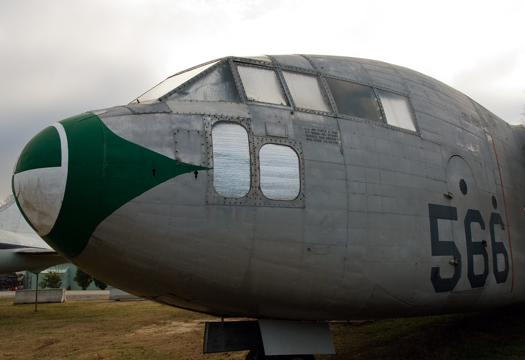 Museum of Aviation, Fairchild C-119B Flying Boxcar SN 51-2566