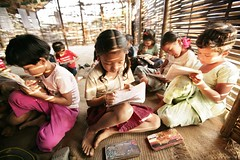 Education: A Basic Right for a Better Future (UNHCR) Tags: nepal girls children education asia bhutan refugees unhcr bhutanese photooftheday southasia bhutaneserefugees unrefugeeagency sanischarecamp