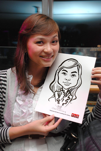 Caricature live sketching for TLC - 34