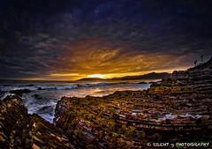 Spyglass Pools (Silent G Photography) Tags: california ca sunset raw fisheye pismobeach tidepools shellbeach spyglass singleraw nikkor105mmf28fisheye nikond7000 markgvazdinskas silentgphotography