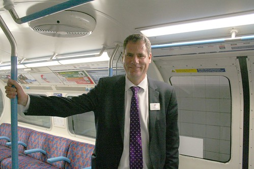 Victoria Line Manager, John Doyle