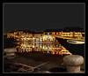 river, boat and the reflecting lanterns (revisited) (PNike (Prashanth Naik)) Tags: sky reflection water colors river lights boat nikon asia ship chinese vietnam hoian anchor lanterns reflectinginwater pnike