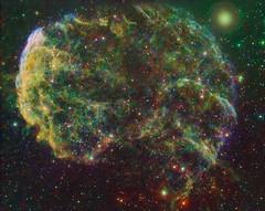 Jellyfish Nebula (IC 443) (kappacygni) Tags: jellyfish nebula supernova phd gemini deepspace celestron ed80 baader nebulosity skywatcher ic443 narrowband starlightxpress eq6 supernovaremnant jellyfishnebula Astrometrydotnet:status=solved qhy5 mn190 Astrometrydotnet:version=14400 sxvrh18 Astrometrydotnet:id=alpha20110533114418 astro:gmt=20110108t2230 astro:subject=ic443