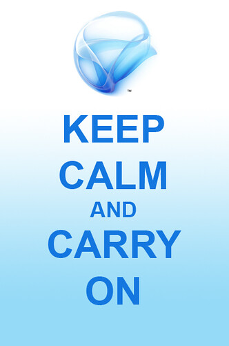 Keep Calm and Carry On Silverlight Devs
