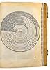 Woodcut illustration in Orbellis, Nicolaus de: Cursus librorum philosophiae naturalis [Aristotelis] secundum viam Scoti