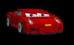 Michael Schumacher Ferrari - Disney / Pixar Cars Movie Character