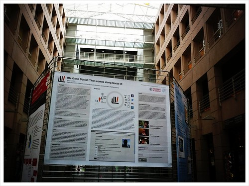 .@MyOpenArchive's poster is displayed in the Uni Mail main hall. #oai7 http://picplz.com/dq0b
