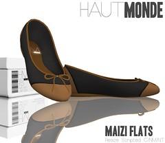 Maizi Flats - Black
