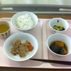 最初の病院食