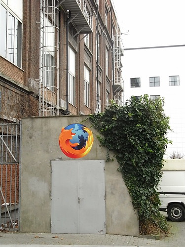 Firefox Spotted on ULB Campus