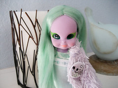 clover (merwinglittle dear) Tags: toy doll witch clover emerald enchanting