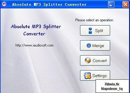 Absolute MP3 Splitter & Converter