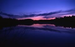 Koli Sunset (DAF711) Tags: sunset lake suomi finland coucher lac nikonfe kodachrome64 finlande koli easternfinland nikonpassion nikon2550mm